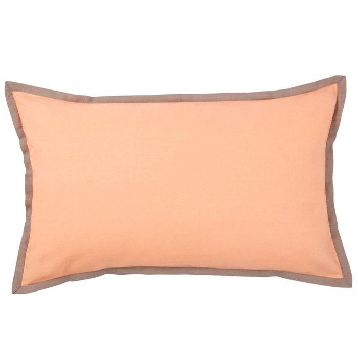 housse de coussin sorbet peche rose olivier desforges la. Black Bedroom Furniture Sets. Home Design Ideas