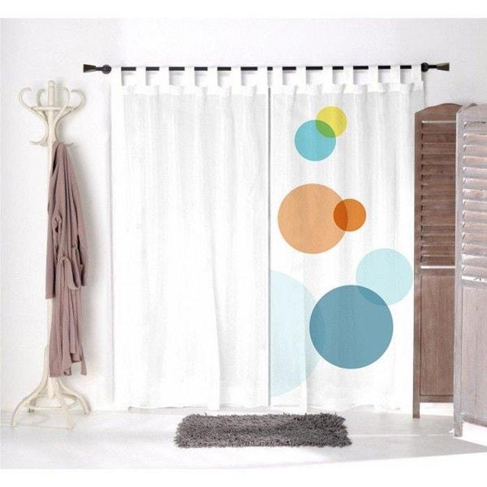 voilage enfant ronds color s 1 multicolore decoloopio la redoute. Black Bedroom Furniture Sets. Home Design Ideas
