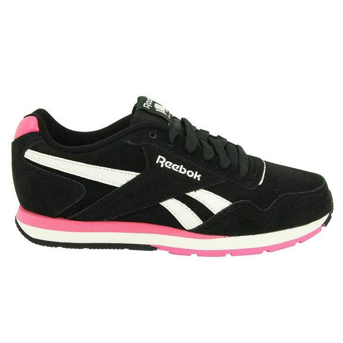 63ce8e2ee1dc4 Reebok reebok royal glide chaussures mode sneakers femme cuir suede noir  Reebok | La Redoute