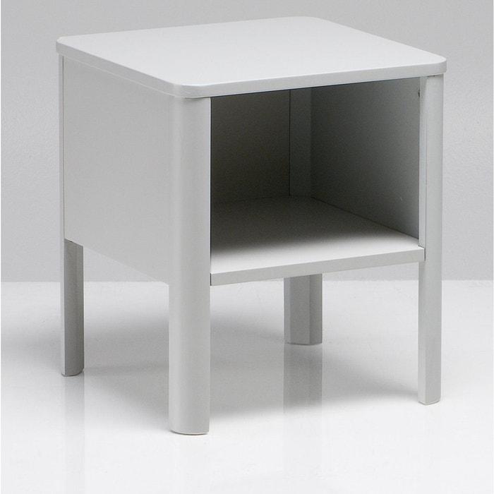 chevet yorick gris la redoute interieurs la redoute. Black Bedroom Furniture Sets. Home Design Ideas