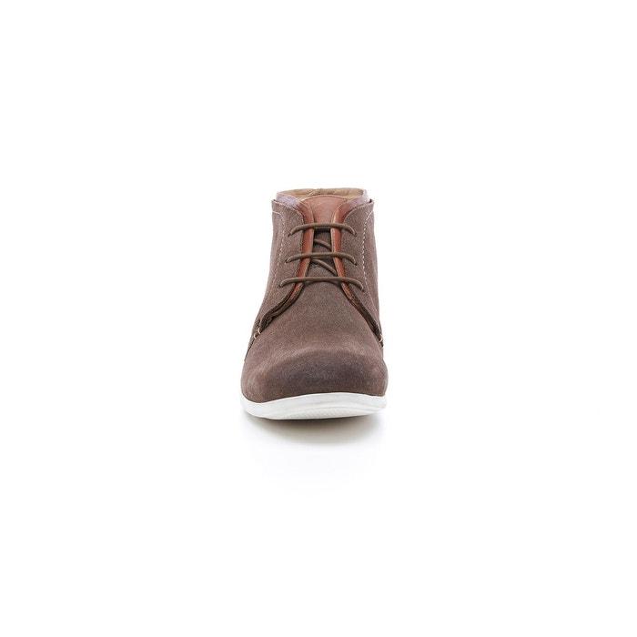 Boots cuir à lacets douma Hush Puppies