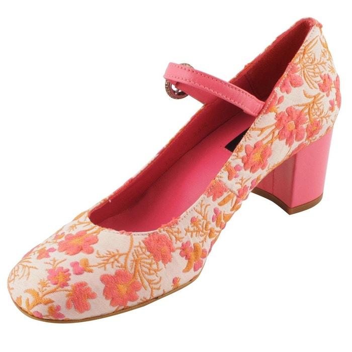 Chaussures à talons milla multicolore Exclusif Paris