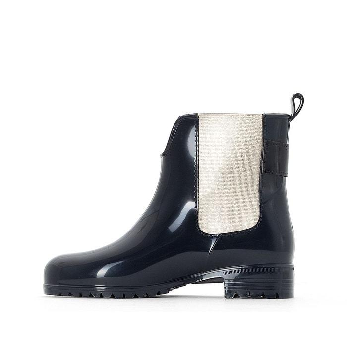 Boots de pluie exley bleu marine/or Tommy Hilfiger