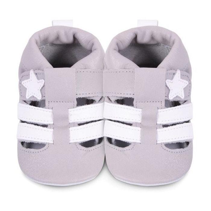 f82a972b2a2ad Chaussons bébé sirocco gris gris Shooshoos