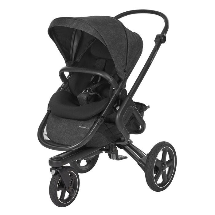 poussette nova 3 roues nomad 1307710210 noir bebe confort la redoute. Black Bedroom Furniture Sets. Home Design Ideas