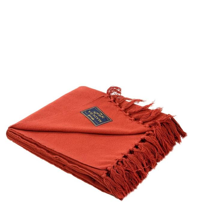 plaid coton amish taupe orange brique madura la redoute. Black Bedroom Furniture Sets. Home Design Ideas