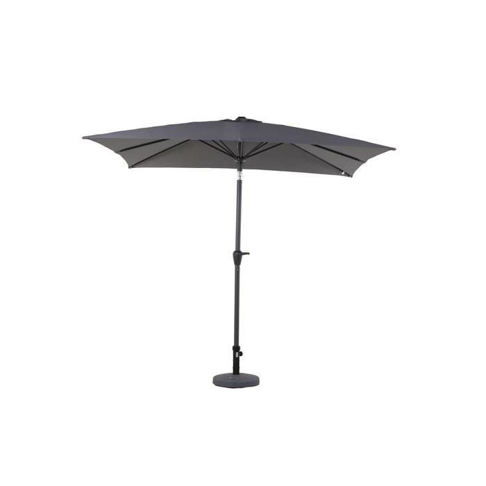 Parasol droit carr fidji 2 5 x 2 5 m hesperide la redoute - Parasol grande taille ...