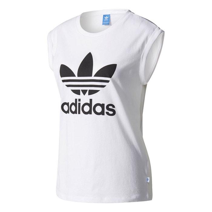 t-shirt blanc adidas