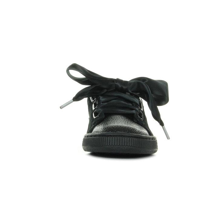 Basket puma suede heart bubble - 366441-01 noir Puma