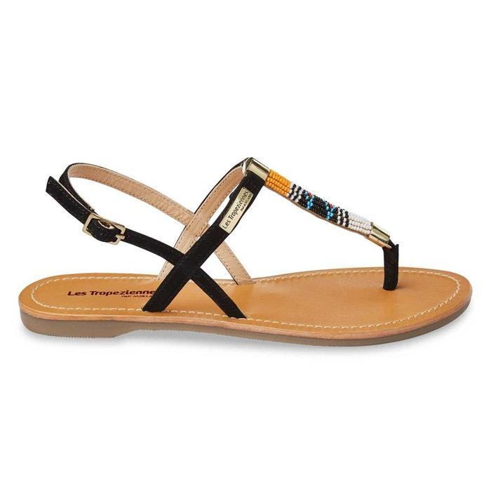 sandales cuir les tropeziennes par m belarbi la redoute. Black Bedroom Furniture Sets. Home Design Ideas