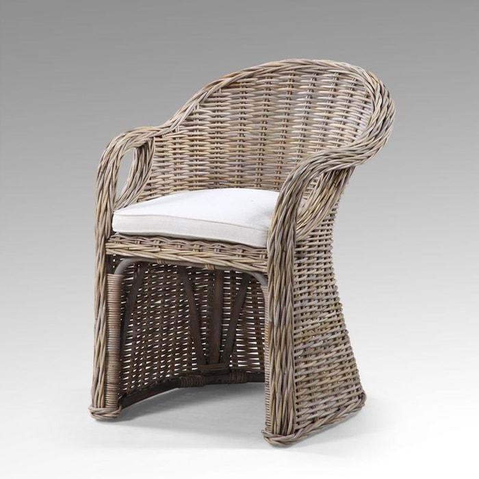 Fauteuil rotin zago couleur unique kha home design la redoute - La redoute fauteuil rotin ...