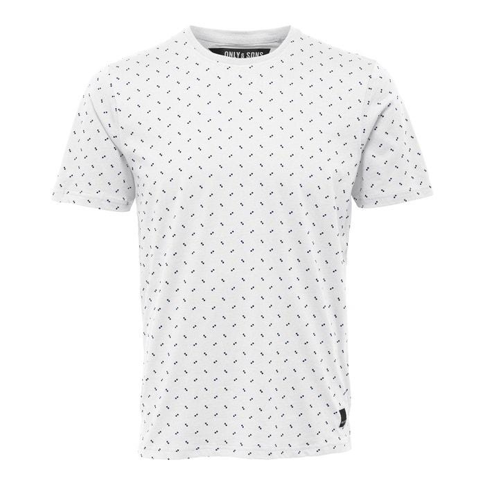 Image T-shirt scollo rotondo fantasia Onsbrage ONLY & SONS