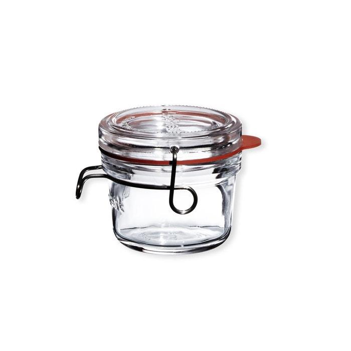 bocaux en verre avec couvercle 12cl lot de 6 lock eat transparent bruno evrard la redoute. Black Bedroom Furniture Sets. Home Design Ideas