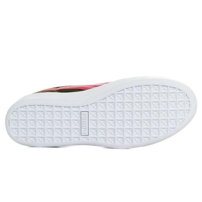 puma platform toute blanche