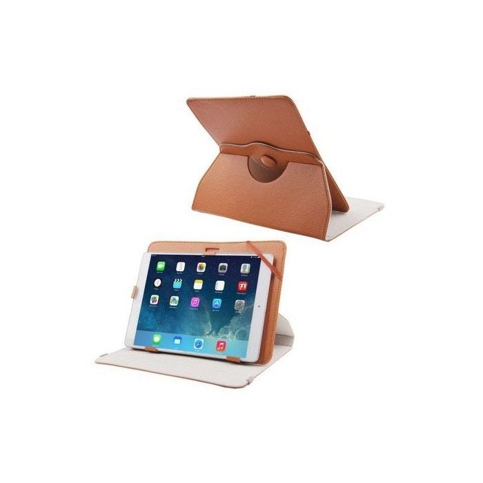 housse universelle tablette 9 7 10 1 pouces support 360 marron multicolore yonis la redoute. Black Bedroom Furniture Sets. Home Design Ideas