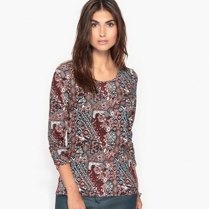 T-shirt coton stretch majoritaire ANNE WEYBURN