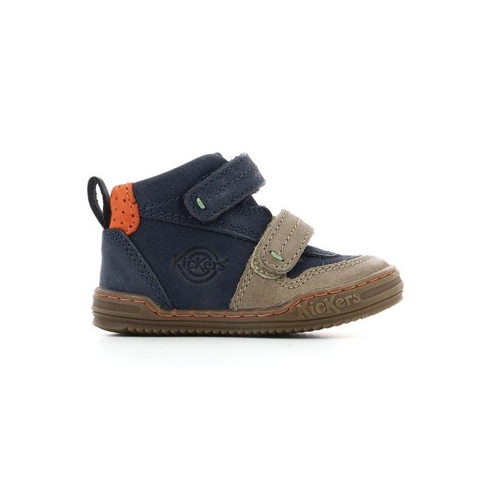 0777bac01e7c22 Sneakers haute cuir bébé jintaba Kickers | La Redoute