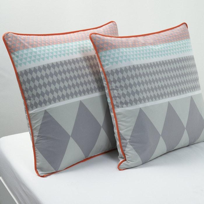ELCÉ Cotton Square Pillowcase.