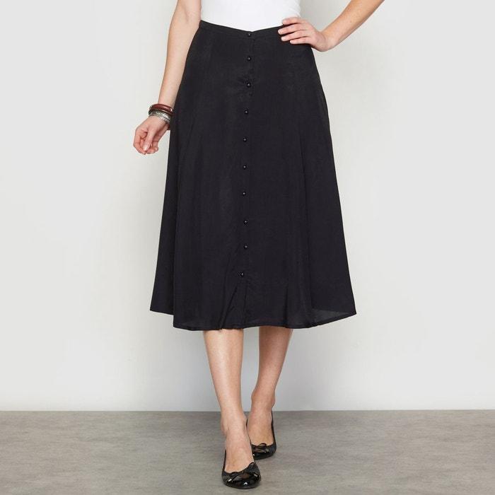 Plain midi skirt Anne Weyburn | La Redoute