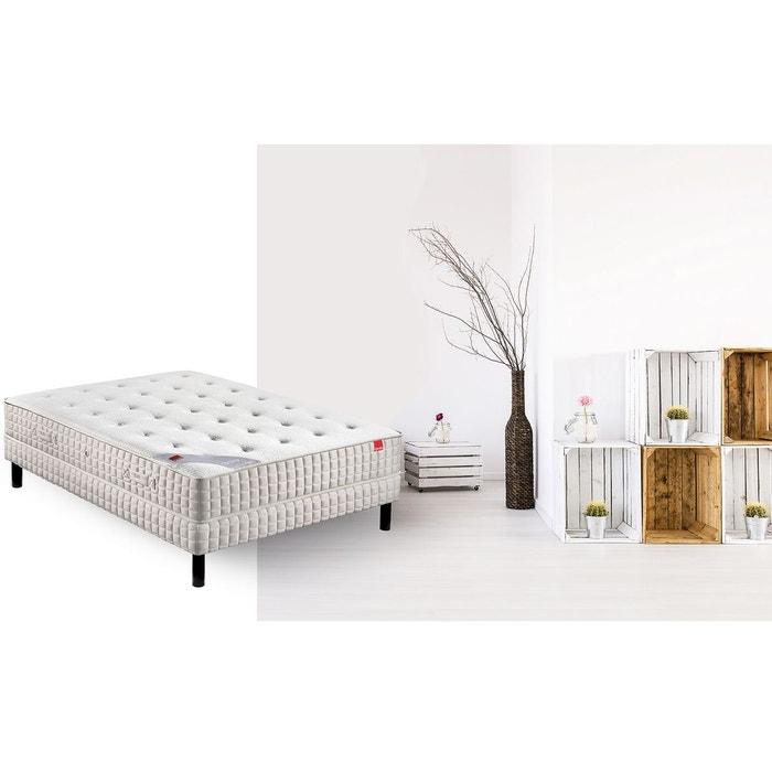 ensemble matelas orchid e et sommier blanc epeda la redoute. Black Bedroom Furniture Sets. Home Design Ideas