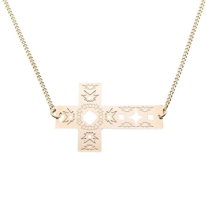 Collier sautoir croix graphique sagrada familia barcelone sagrada or Mademoiselle Felee | La Redoute Sneakernews Prix Pas Cher jFp7I6CSd