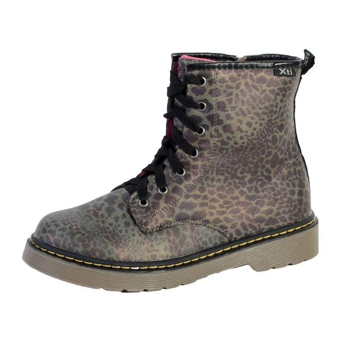 Chaussure botin mod leopardo  multicolor Xti  La Redoute