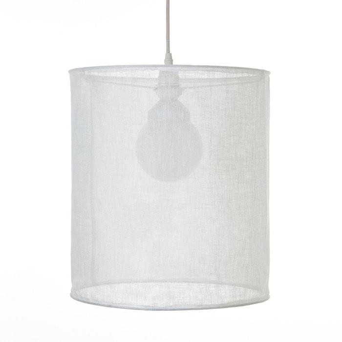 Lampadario in garza di lino Ø35 x A40 cm, Holorime  AM.PM. image 0