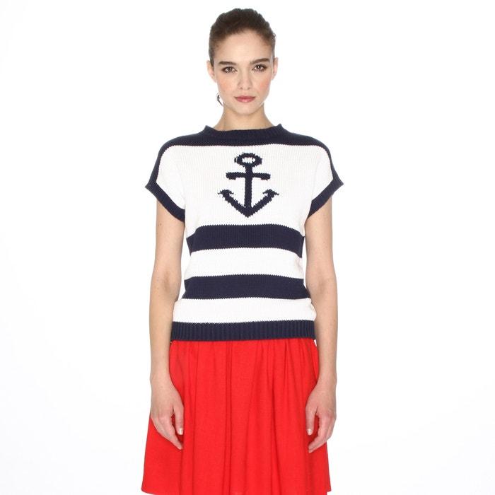 Jersey de magna corta con motivo marinero  PEPALOVES image 0