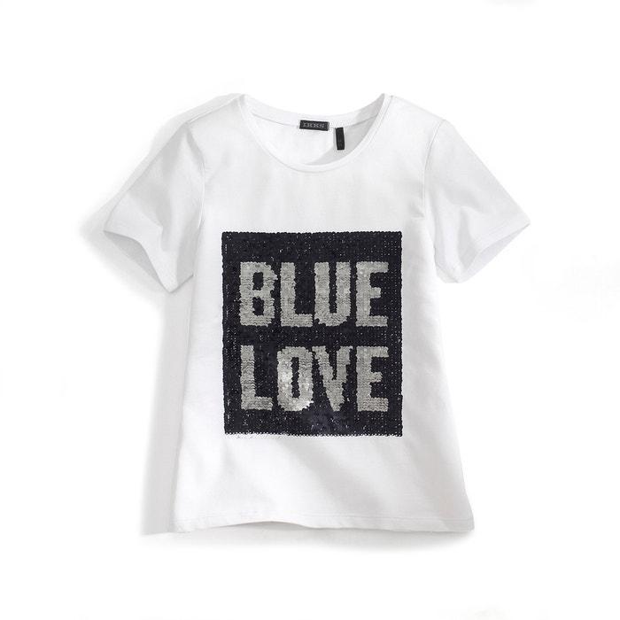 afbeelding T-shirt ''BLUE LOVE'' IKKS JUNIOR
