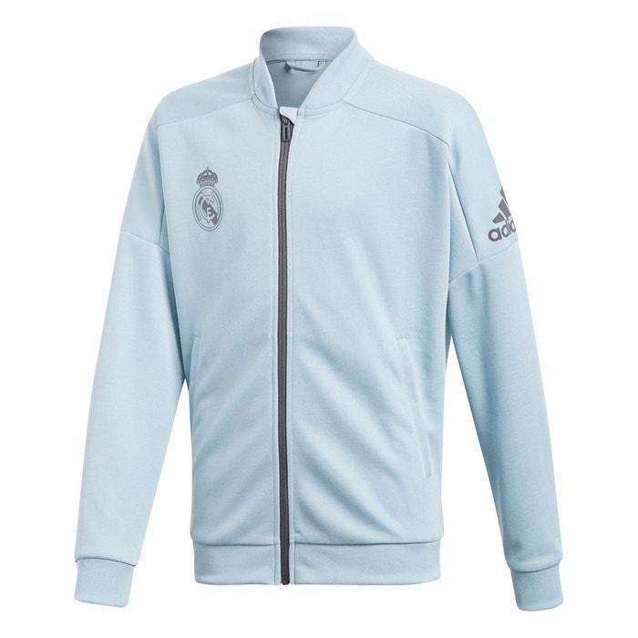 Real Survêtement De La Adidas Gris Madrid Cendré Veste Originals axwBvpv