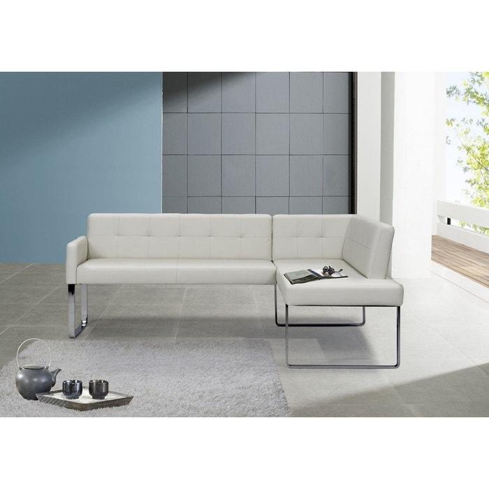 banquette diamonddining 125 x 229cm blanc seanroyale la redoute. Black Bedroom Furniture Sets. Home Design Ideas