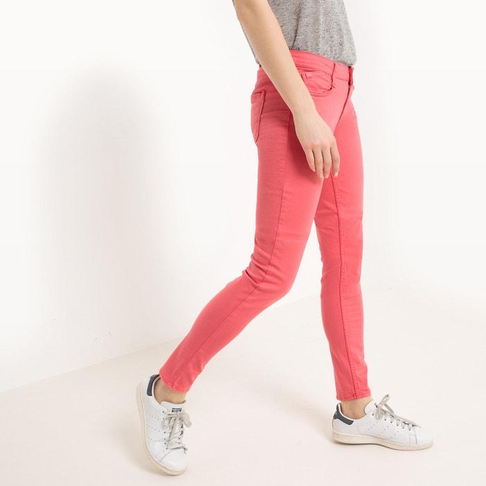 Calças slim, cintura standard  LE TEMPS DES CERISES image 0