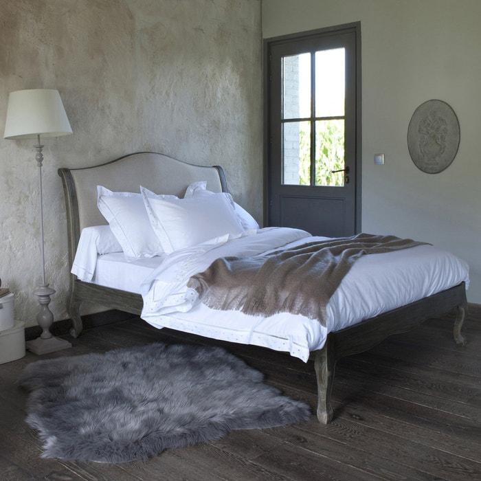 bett und lattenrost janel f r 2 personen leinen la redoute interieurs la redoute. Black Bedroom Furniture Sets. Home Design Ideas