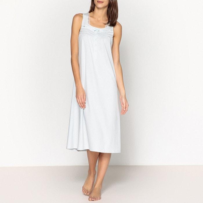 Camicia da notte in cotone con pizzo  ANNE WEYBURN image 0
