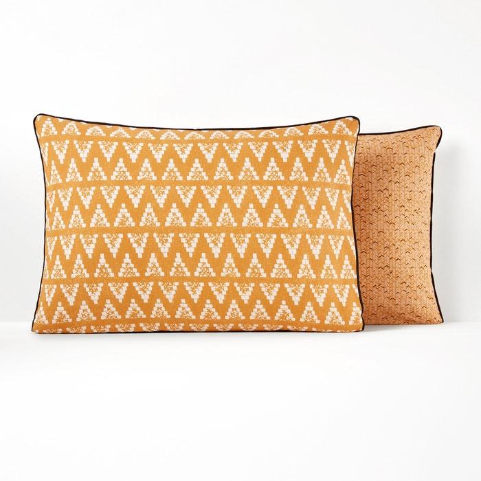 POPAYAN Printed Pure Cotton Pillowcase  La Redoute Interieurs image 0