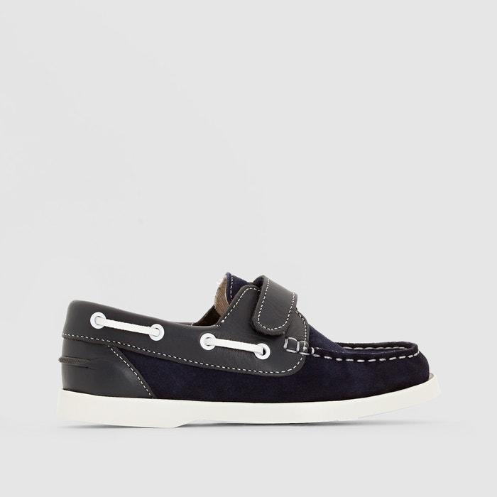 Suede Deck Shoes 26-40  La Redoute Collections image 0