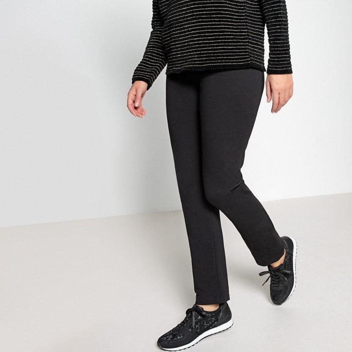 df79c4b694c802 Stretch cotton fleece leggings, length 30.5