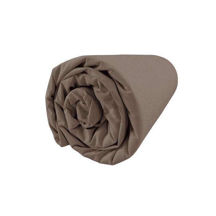 drap housse moka 100 coton moka matt et rose la redoute. Black Bedroom Furniture Sets. Home Design Ideas