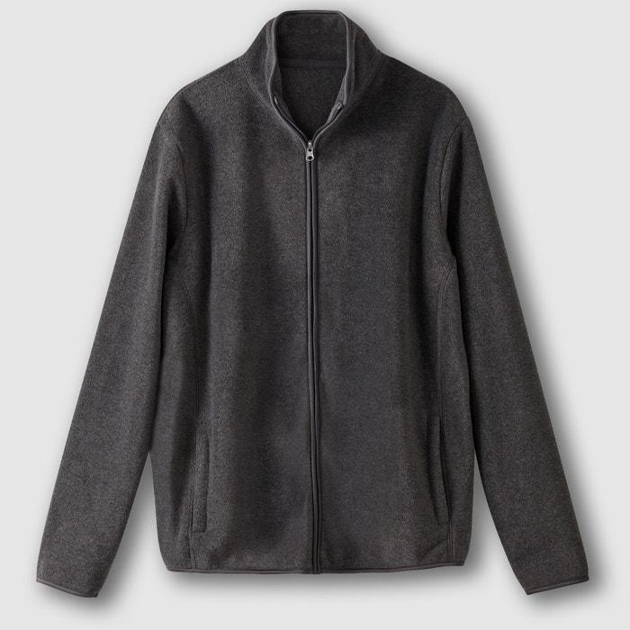 afbeelding Sweater in fleece met rits en opstaande kraag R édition