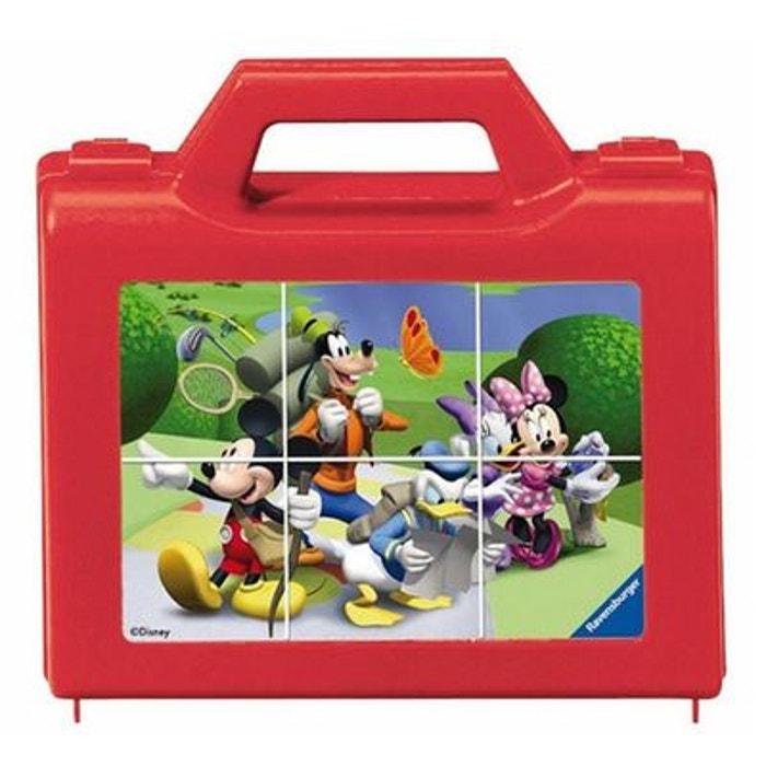 Puzzle 6 cubes : Mickey en vadrouille RAVENSBURGER
