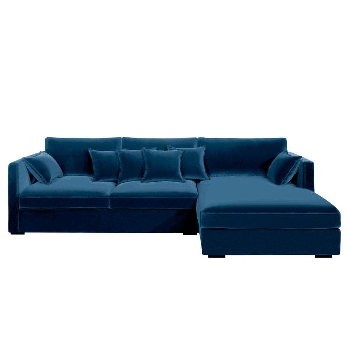 canap d angle n o kinkajou velours am pm la redoute. Black Bedroom Furniture Sets. Home Design Ideas