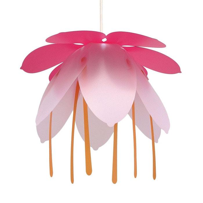 lampe suspension enfant grande fleur fushia et rose rose r et m coudert la redoute. Black Bedroom Furniture Sets. Home Design Ideas