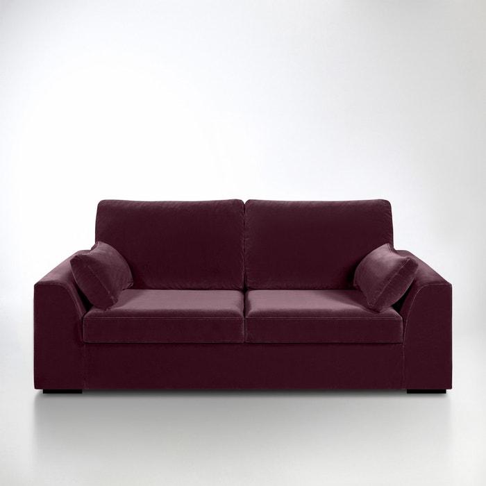 canap convertible madison velours la redoute interieurs la redoute. Black Bedroom Furniture Sets. Home Design Ideas