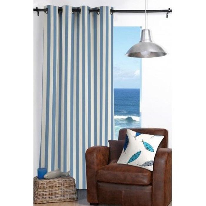 rideau ray esprit bord de mer bleu home maison la redoute. Black Bedroom Furniture Sets. Home Design Ideas