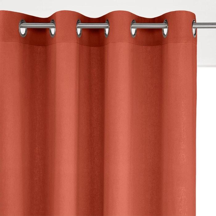 rideau lin viscose oeillets odorie la redoute interieurs en solde la redoute. Black Bedroom Furniture Sets. Home Design Ideas