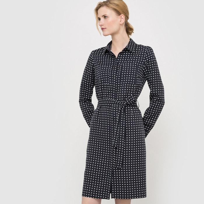 Image Polka Dot Shirt Dress atelier R