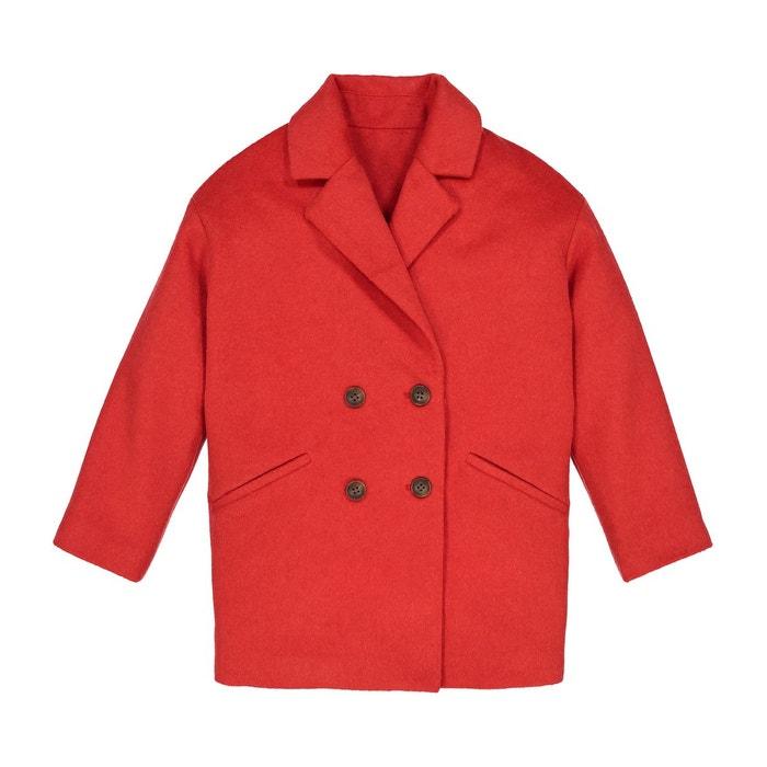 La Redoute Manteau mi-long col tailleur 3-12 ans À La Recherche De sb0ja