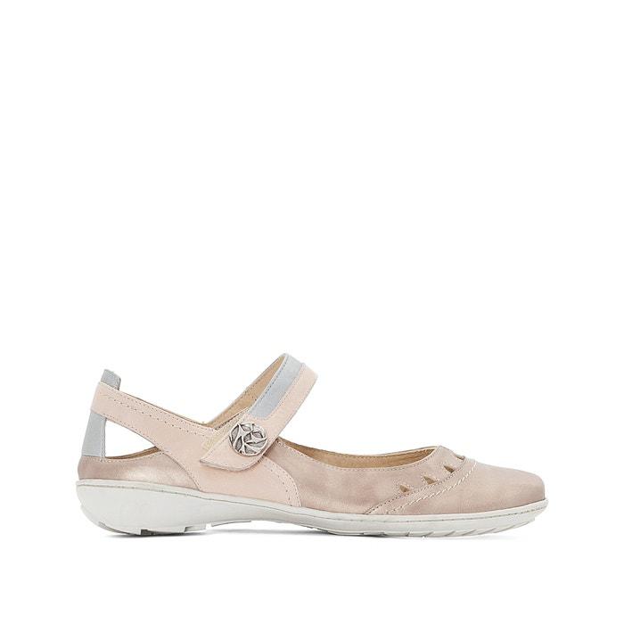 Metallic Leather Ballet Pumps  ANNE WEYBURN image 0
