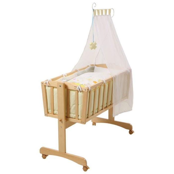 berceau complet roba porte bonheur en bois naturel roba la redoute. Black Bedroom Furniture Sets. Home Design Ideas