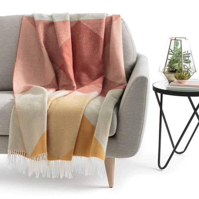 plaid esprit folk salta la redoute interieurs multicolore. Black Bedroom Furniture Sets. Home Design Ideas